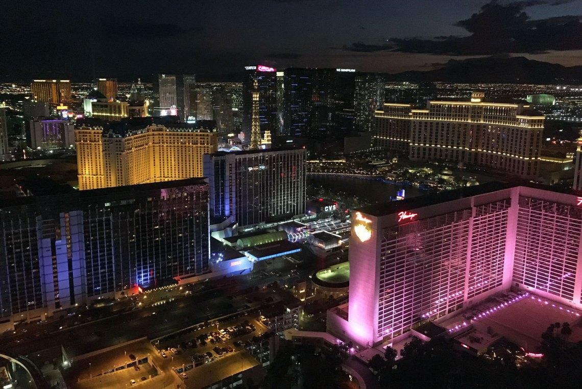 Ausblick vom High Roller in Las Vegas