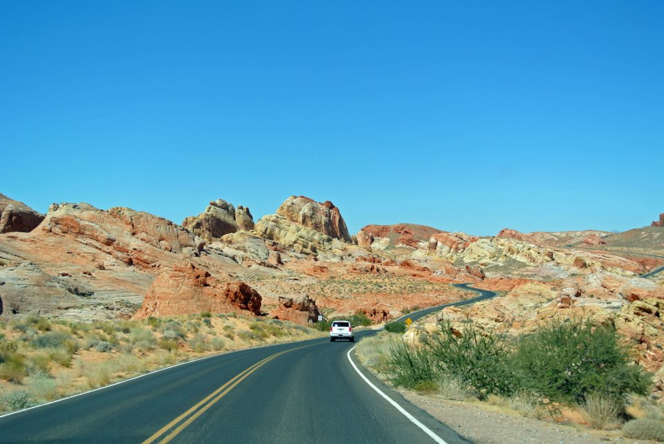 Valley of Fire State Park im Südwesten der USA