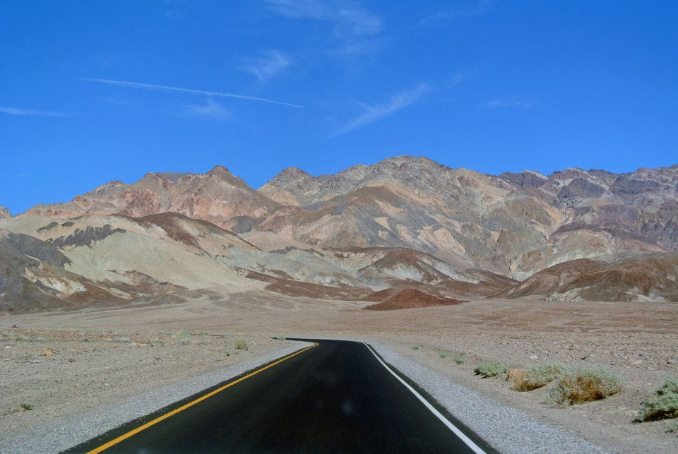 Artists Drive im Death Valley