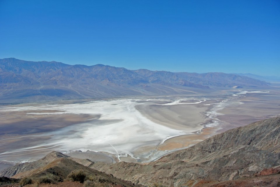 Aussicht vom Dantes View im Death Valley