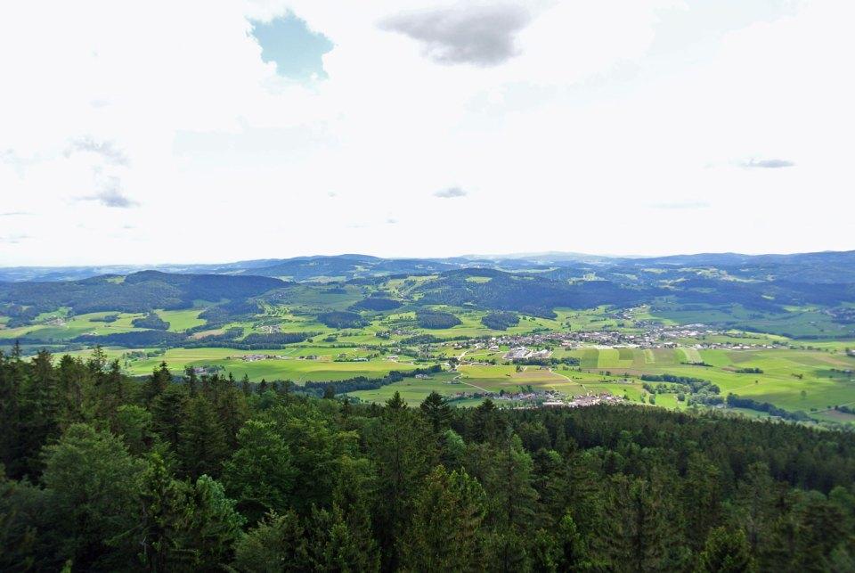 Aussicht Alpenblick