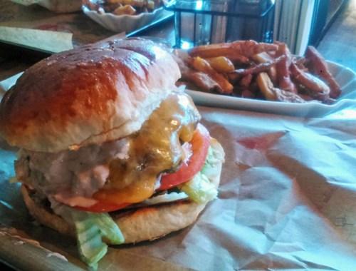 Burger in der Burger's Bar