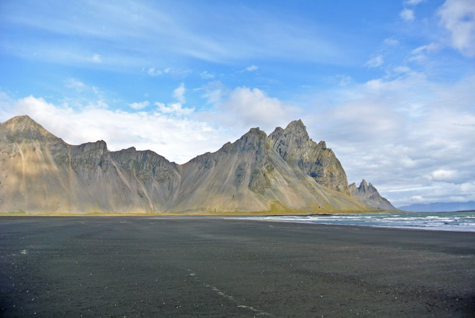 Stokksness Vestrahorn Island