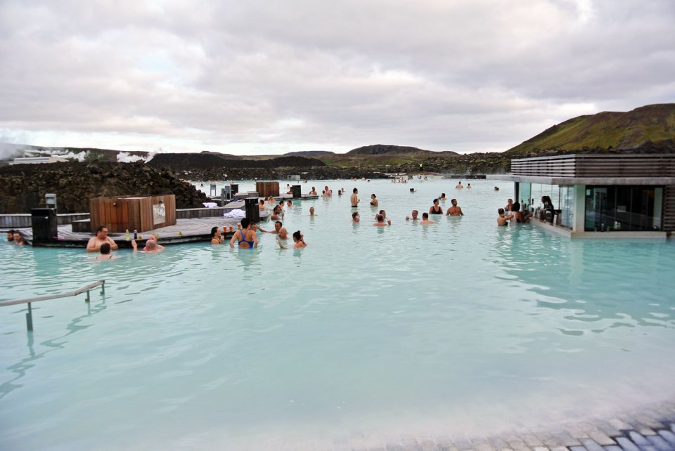 Bláa Lónið Reykjanes Island