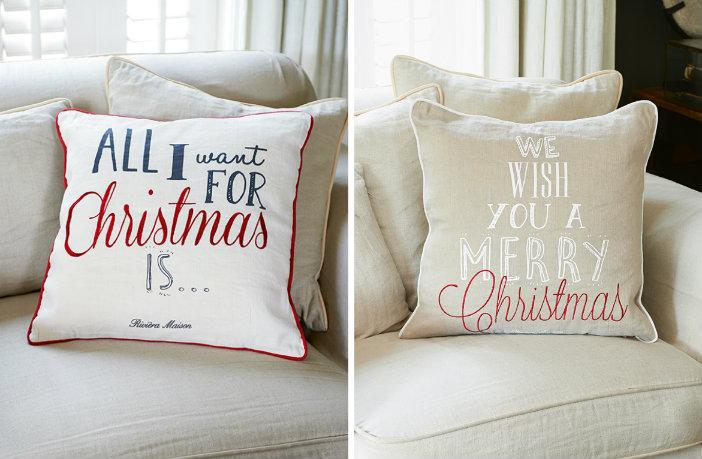 De allerleukste kerstkussens voor op je bank