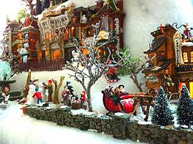 Photo Gallery Of Villages With Polyester Snow Fabric