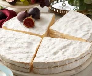 Fortnum and Mason cheese wheel