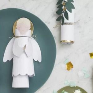 Christmas cracker angels