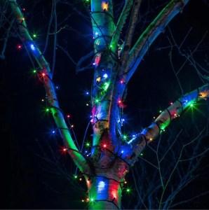 xmas tree light decorations