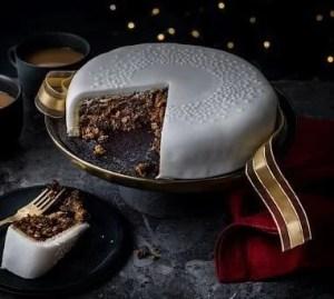 M&S xmas cake