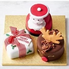 waitrose xmas cake santa