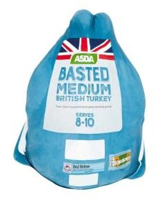 asda xmas frozen turkey