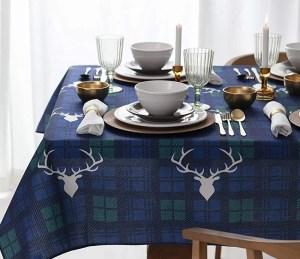 xmas day tablecloth