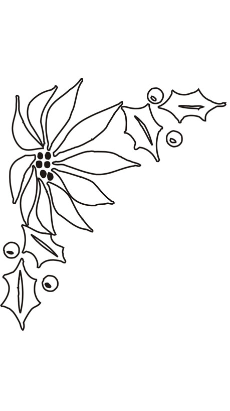 Weihnachten Malvorlagen Blumen Malvorlagen Window Color