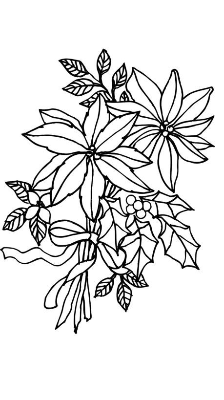 Blumen Malvorlagen Basteln Fensterbild Blumen