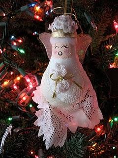 Lightbulb Angel craft