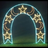 LED Outdoor Christmas Decorations - Lighted Commercial ...