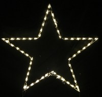 LED Outdoor Christmas Decorations - Lighted Star ...