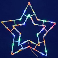 LED Outdoor Christmas Decorations - Lighted Wall And ...