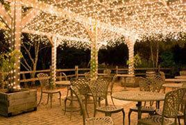outdoor patio christmas lights