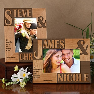 custom engraved picture frame
