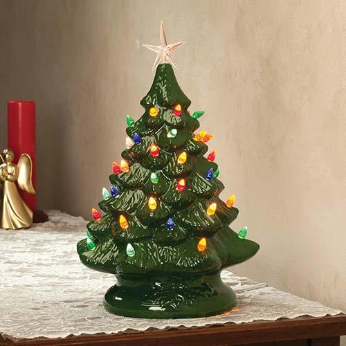 Nostalgic Ceramic Christmas Tree Christmas Gifts