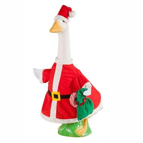 Miles Kimball Santa Goose Outfit Christmas Gifts