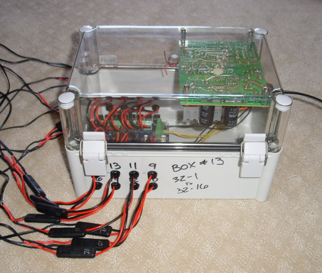 Dc Box With D Light Dcx And Old Pc Power Supply