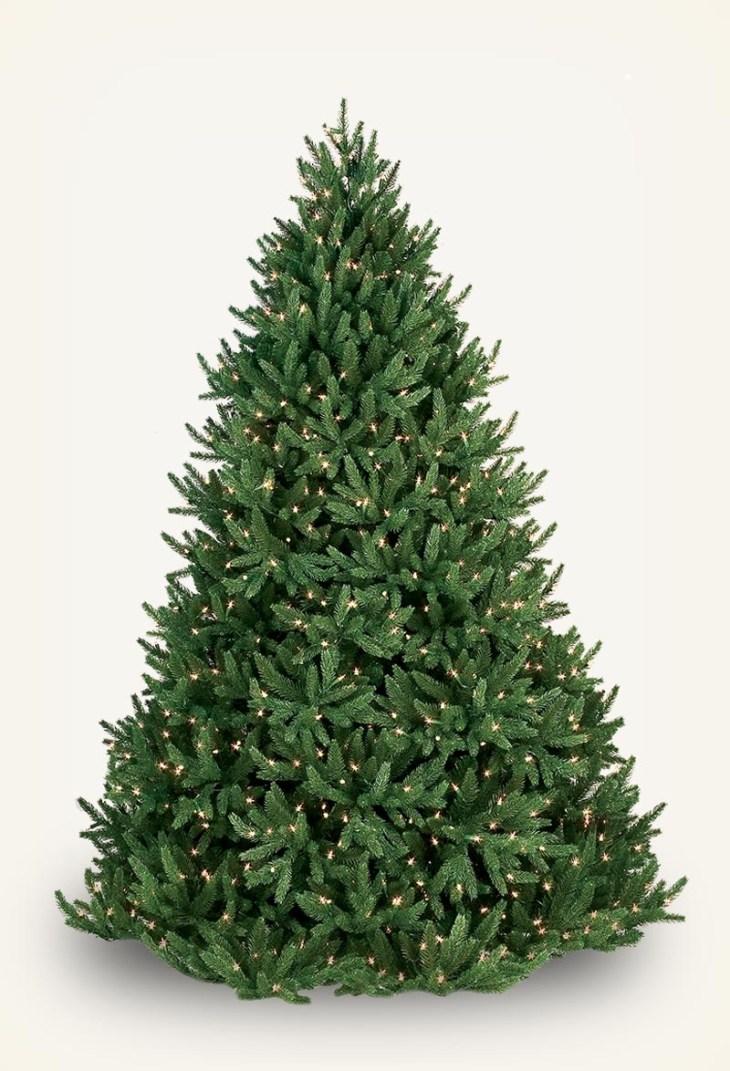Noble Fir Prelit Tree