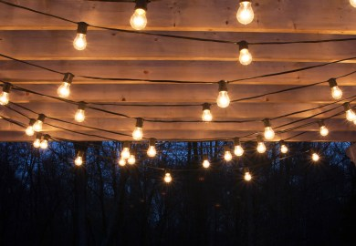 Hanging Pergola Lighting