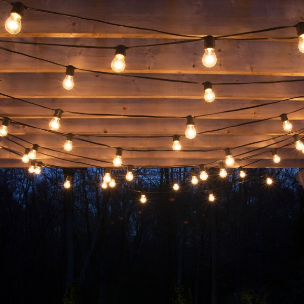 How to Hang Patio Lights String