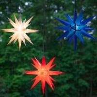 """Moravian Stars - 14"""" Red Moravian Star"""