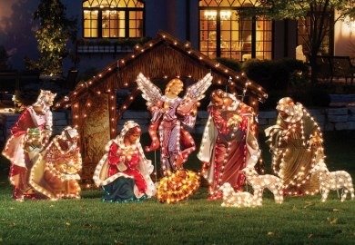 Outdoor Wood Christmas Decorations