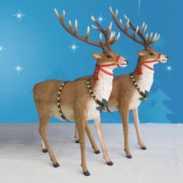 Life-Size Reindeer