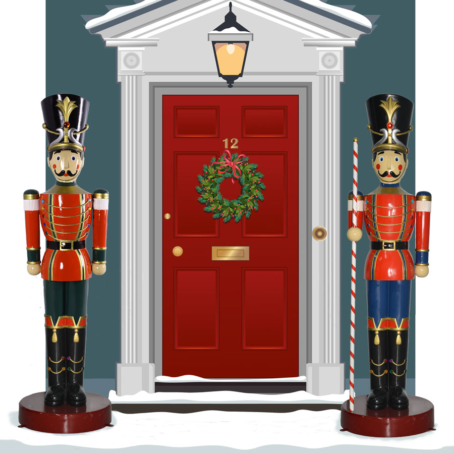 outdoor toy soldier decoration l