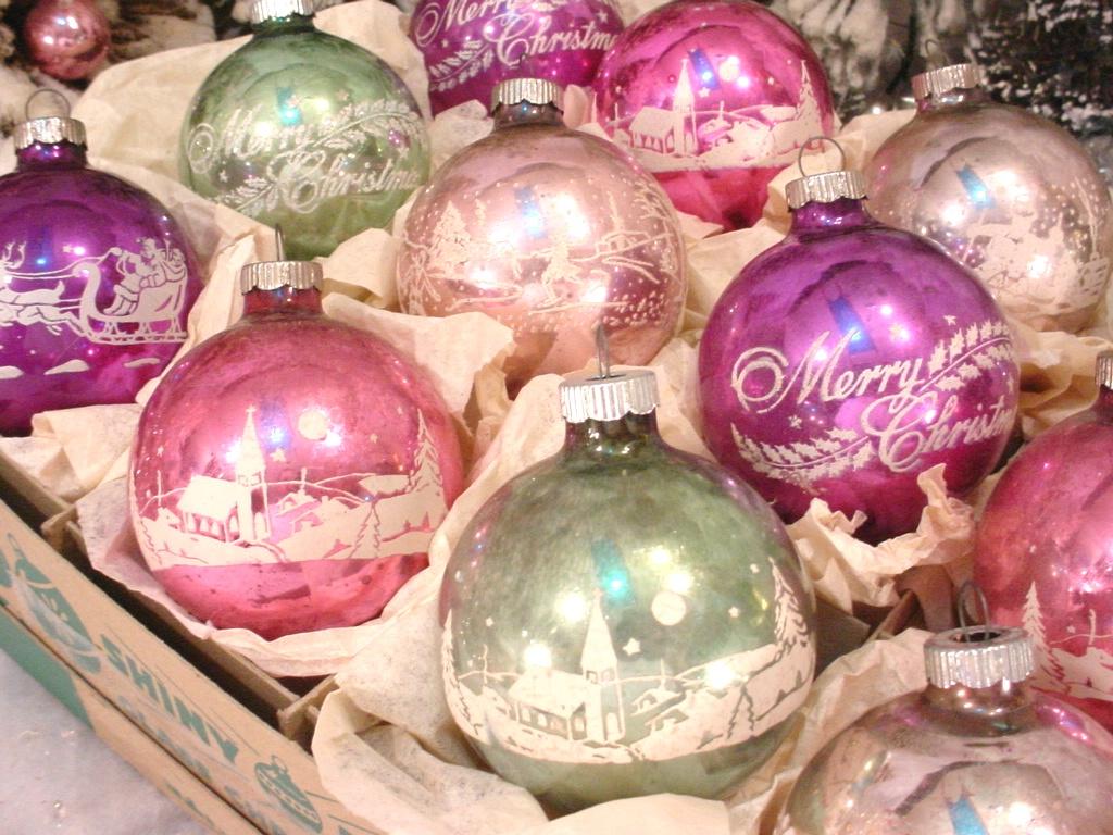 1960 Christmas Ornaments