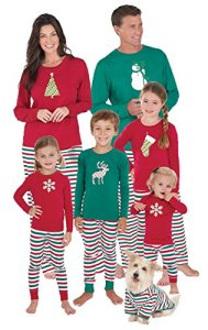pajamagram holiday stripe matching family pajama set redgreen festive christmas pajamas this whole family pajama set features holly jolly red