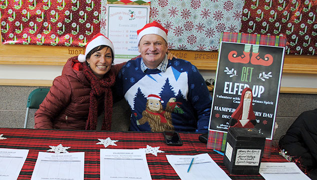 A Christmas Spirit.Christmas Spirit Campaign A Bow Valley Miracle