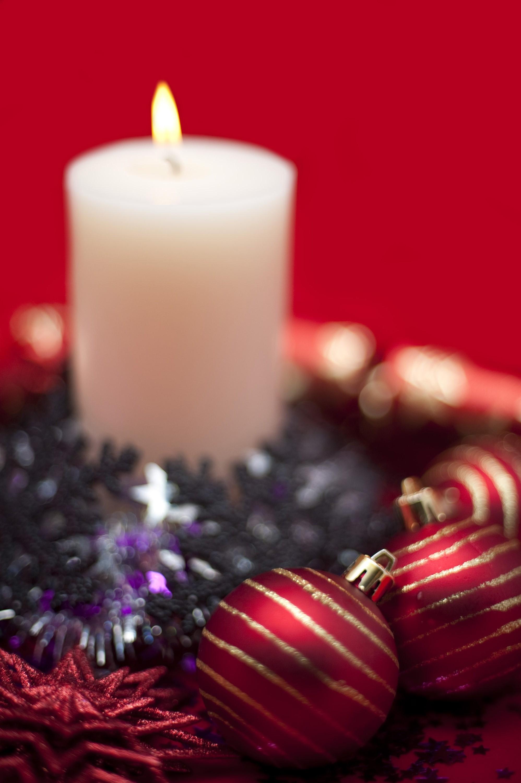 Photo Of Festive Candle Background Free Christmas Images