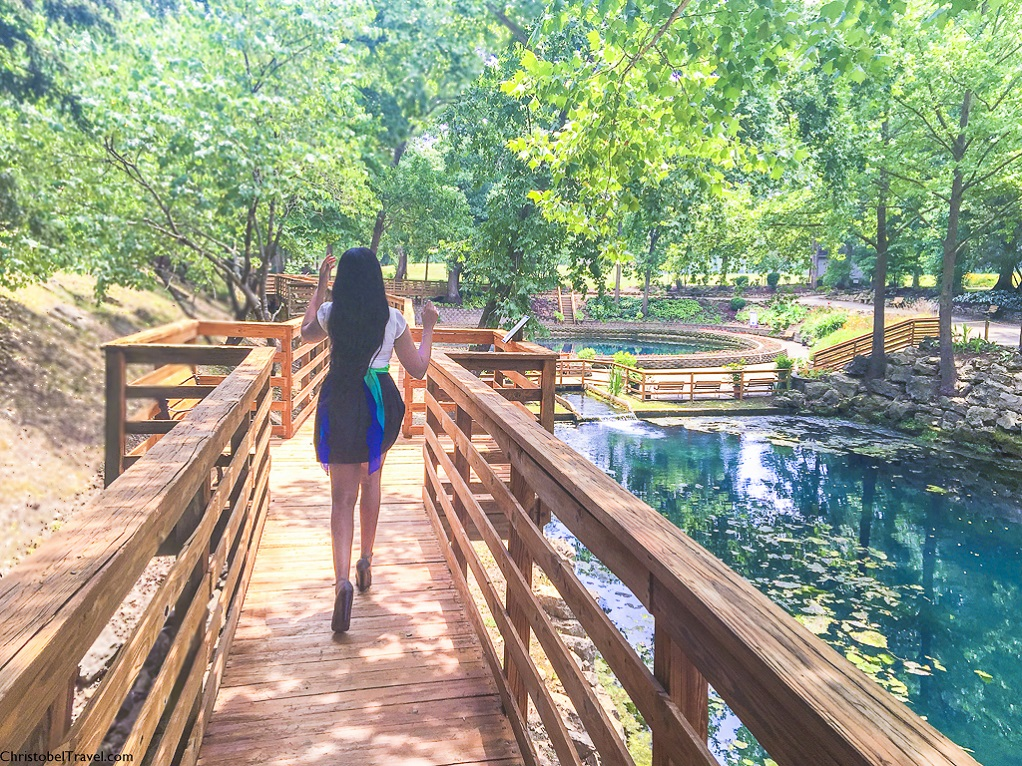 Blue Spring Heritage Center and Gardens - EUREKA SPRINGS: 25 THINGS TO DO - by Christobel Travel