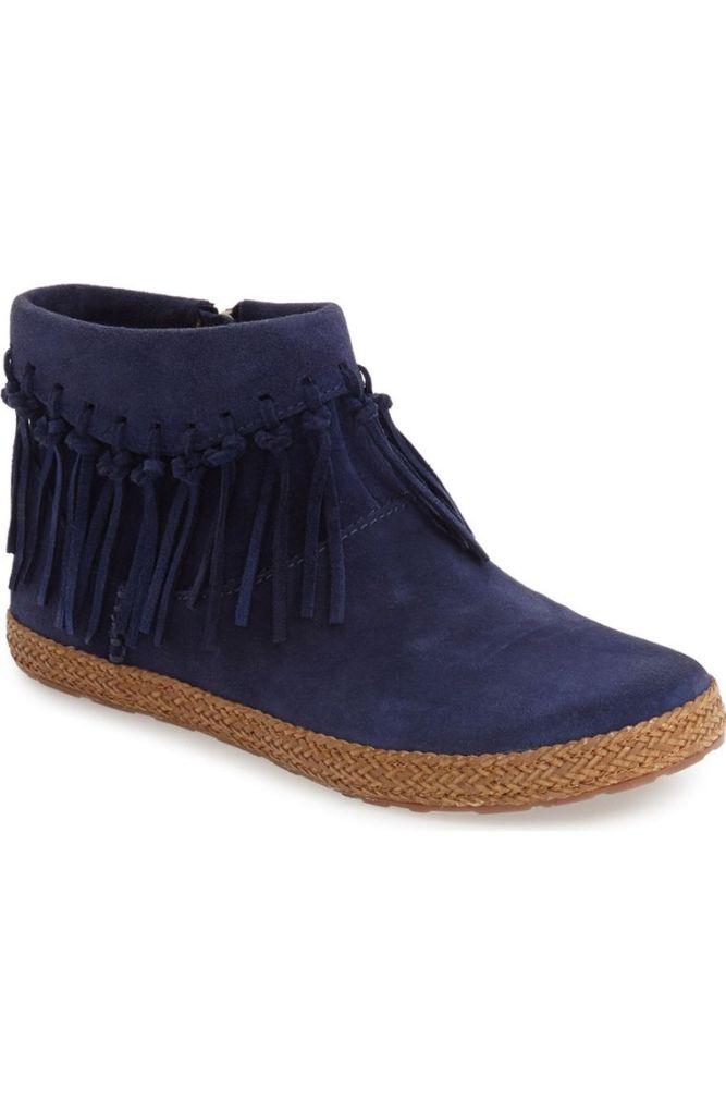 'Shenendoah' Fringe Ankle Boot by UGG® | $80