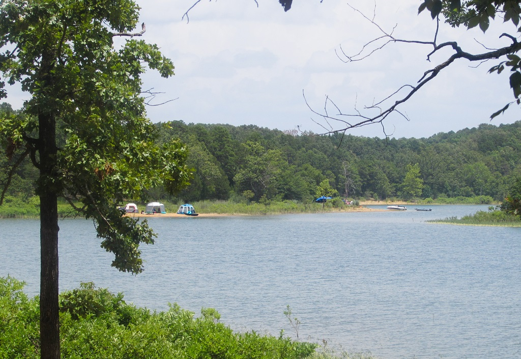 Ouachita Lake - Ouachita National Forest - Road Trip - 26 Places to Visit in Arkansas - Christobel Travel