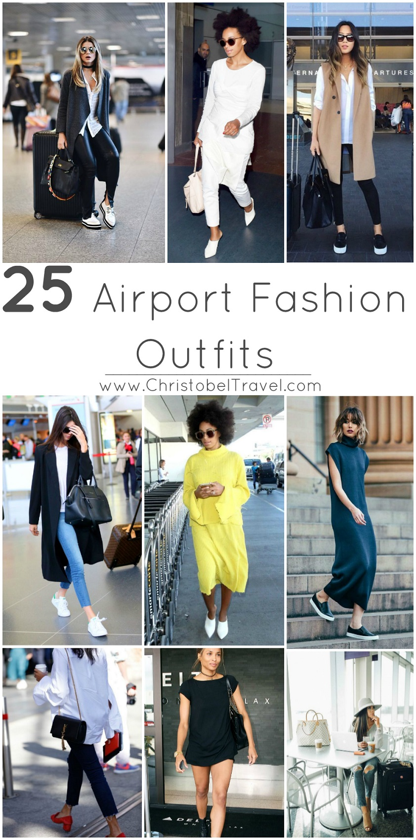 25 Airport Fashion Outfits to Travel in Style by Christobel Travel