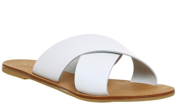 Spiritual Cross Strap Mule Sandals - 15 Travel Sandals for Summer - Christobel Travel