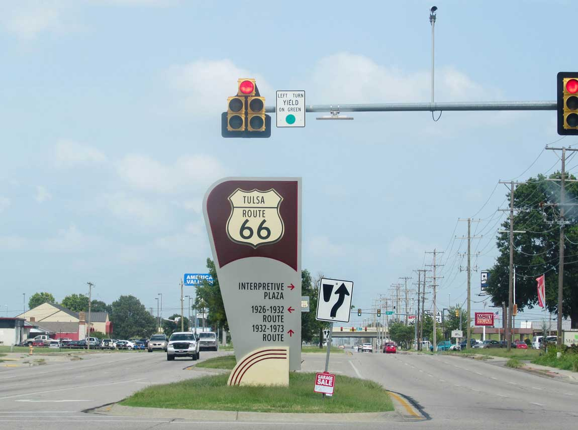 Route 66 Tulsa - Route 66 Oklahoma: All Towns and Attractions to See - Christobel Travel