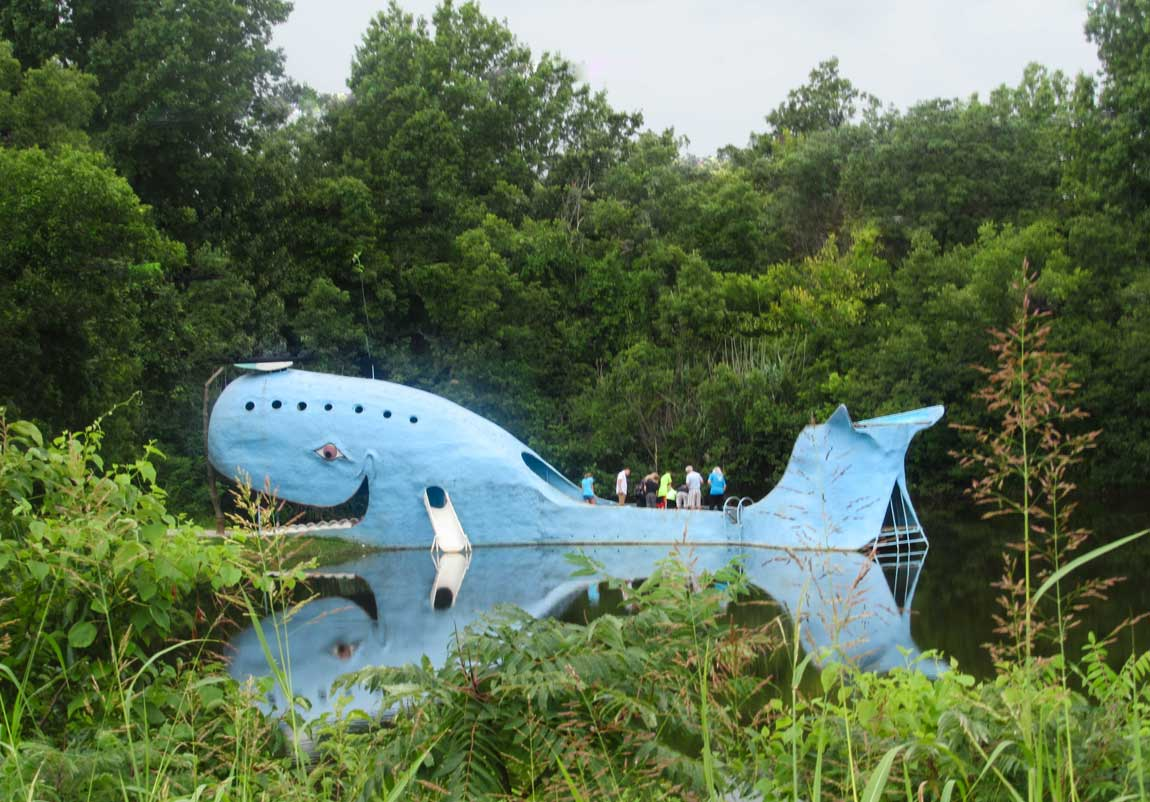 Blue Whale Catoosa - Route 66 Oklahoma: All Towns and Attractions to See - Christobel Travel
