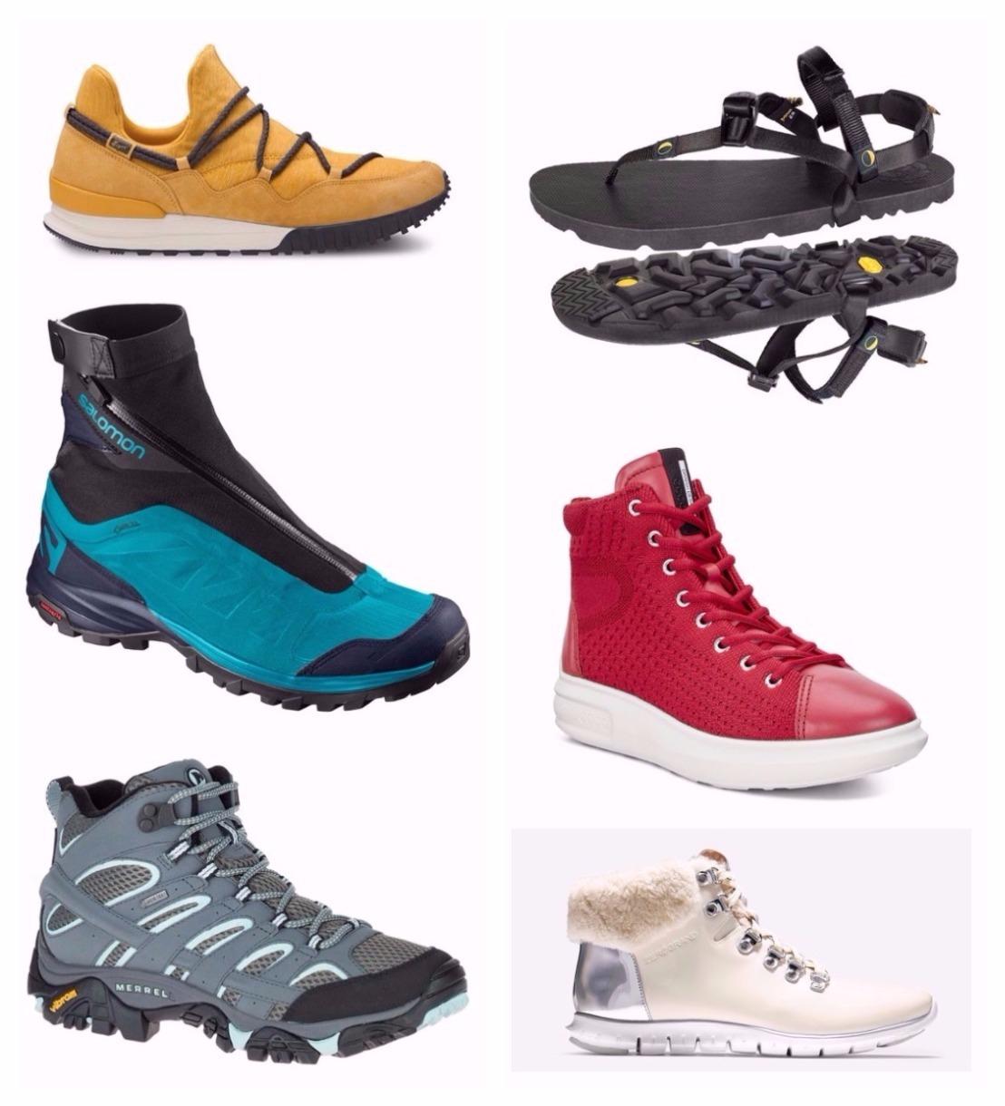fashionable hiking shoes