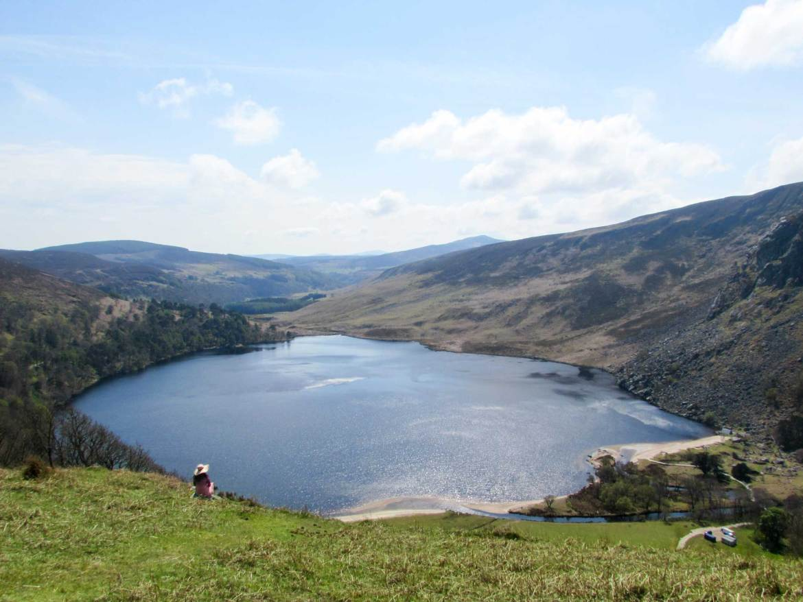 Lough Tay Lake - 41 Things to do in Wicklow County - Christobel Travel