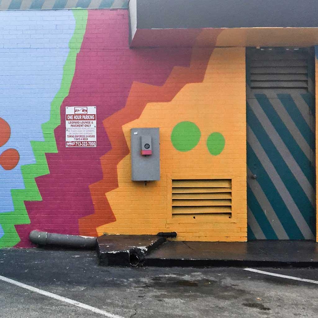 Pillars mural