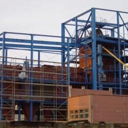 Biomasse-Kraftwerk Dresden